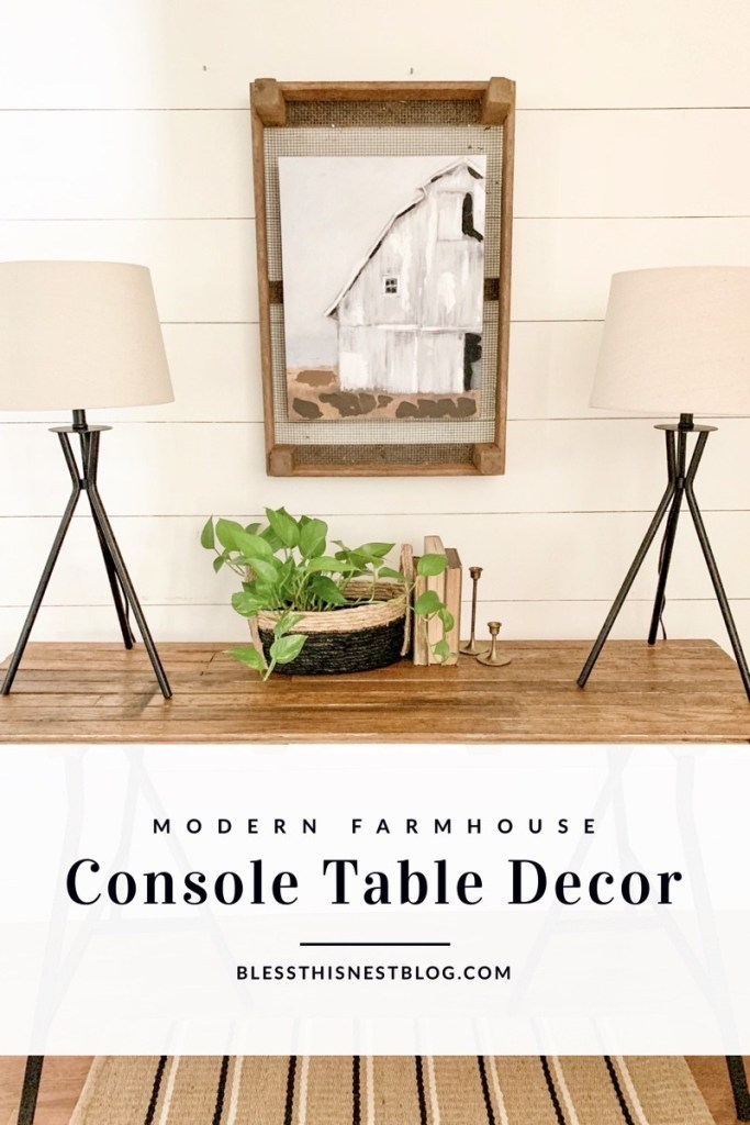 console table blog banner