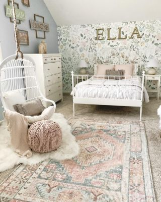 Good news! My daughter's swing chair is back in stock! She uses this almost everyday and loves it. It also added such a fun and cozy touch to her room. I shared all about it on the blog. Head over to my Stories to check it out.   #modernfarmhouse #farmhousestyle #interior123 #bhghome #antiquefarmhouse #homedecor #shiplap #farmhouseinspired #farmhousedecor #magnoliahome #neutraldecor #americanfarmhousestyle #prettylittleinteriors #fixerupper #countrylivingmagazine #mydecorvibe #currentdesignsituation #betterhomesandgardens #ltkhome #moody_tones